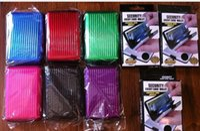 Wholesale 400pcs New Aluminum Wallet Purse ID Credit Card Case aluminium Holder Metal card holders mm Z714
