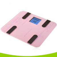 Wholesale 2016 new environmental Smart fat scale one generation high precision sensor intelligent health slimming weight scale
