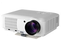 Wholesale 4000 Lumens p D Home Theater Movie Projector AV TV HDMI USB VGA LCD Panel LED Proyector White Fast Shipping