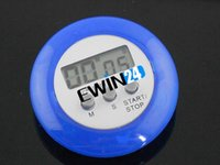 Wholesale Mini Digital LCD Kitchen Cooking Countdown Timer Blue