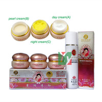 Wholesale Hot yiqi Beauty Whitening cream Effective In Days face Cream set third generation