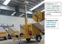 Wholesale New Generation Solar Powered CCTV Security Camera System Trailer