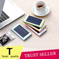 backup android phone - NEW solar power bank mah portable for iphone6 s plus phones samsung android cellphone usb backup chargers
