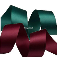 Wholesale Satin Ribbons Belt Gift Packing Silk Ribbon Polyester Ribbon cm Wide m Wedding Decoration Hair Accessory Bowknot