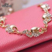 apple slap - Fashionable Decoration Apple With Leave Banquet Luxury Bracelet Nice Girl Exaggerated Bracelet