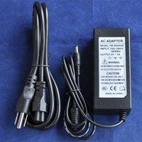 Wholesale 20pcs AC100 V to DC5V A A A A A A A non waterproof power adapter EU US plug led strip light black shell power supply