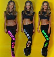 big leg pants - 2015 Spring Fashion Refreshing Legging Women Big Girls Springy Tights Europe Style Good Quality Legging Woman Letter Pritn Pants B