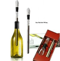 red red wine - NEW Stainless Steel Wine Cooling stick Corkcicle White Red Wine Chiller Replace the Ice Bucke