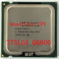 Wholesale Promotional Q6600 G quad core CPU scattered pieces of computer hardware full version Promotional Q6600 G quad core