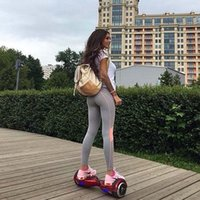 electric remote - USA Warehouse Self Balancing Wheels Smart Electric Scooters Skateboard Cool Hoverboard Bluetooth Remote Bag inch Two Wheel