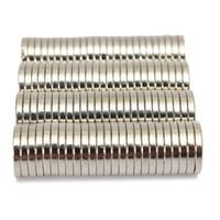 Wholesale 100pcs x1 mm Neodymium Disc Super Strong Rare Earth Fridge Magnets N50 Price
