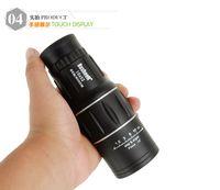 2016 de alta calidad Mini 16x52 Dual para Focus óptica Lente día visión nocturna Armoring viajes monoculares telescopio turismo alcance binoculares