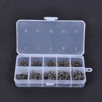 Wholesale New Arrival Carbon Steel Carp Fishing Jig Hooks with Hole Fly Fishing Tackle Box Sizes Pesca Fish Hooks