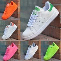 shoe factory - Factory Classic casual shoes new stan shoes fashion smith sneakers casual leather men women sport running shoes