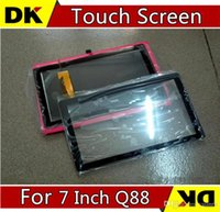 Wholesale Brand New Touch Screen Display Glass Digitizer Digitiser Panel Replacement For Inch Q88 A13 A23 A33 Tablet PC Repair Part