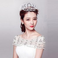 Cheap Shining Beaded Crystals Best Wedding Imperial crown