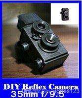 Wholesale DIY Lomo Recesky TLR mm Twin Lens Reflex Retro Camera top sale