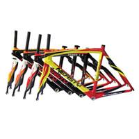 bicycle frame parts - Multi Color Carbon Road Bike Frame Carbon Frame for Road Bicycle Parts and Accessaries cm