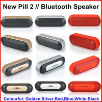 Wholesale New Pill XL Bluetooth Speaker Pill XL Speaker Portable Wireless Speakers Bulit in Mic Handsfree Support TF USB mm Audio Big Sound Speaker