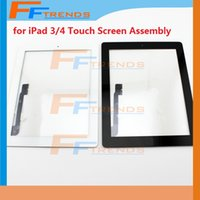 cable assembly - for iPad Touch Screen Digitizer Assembly with Home Button Flex Cable Adhesive M Sticker Black White Free Shipp Factory Supply