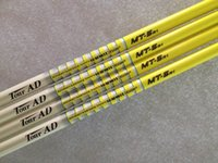 Wholesale Golf shafts Yellow Tour AD MT Graphite shaft High quality Golf driver woods shafts