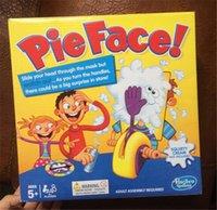 Wholesale 100pcs hot sale Korea Running Man Pie Face Game Children Novelty interest paternity toys Parent child games D517