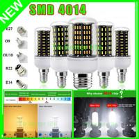 E27 E14 G9 GU10 LED Spot lumières 12W 15W SMD4014 Led Ampoules maïs Lumières AC 85-265V CE saa led lustre