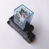 Wholesale Omron Original Mini Intermediate Relays MY2N J MY2NJ A Brand New With Base Warranty for Two Years