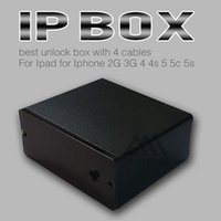 Wholesale IP box IP box best unlock box For Ipad for Iphone G G s c s with cables free ship