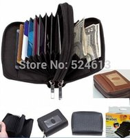 accordion cases - Micro Wallet Palm Sized Purse ID amp Credit Card Organizer Holder Case w Accordion Expandable Pockets amp Zipper