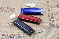 Wholesale High Quality Holes Key of C Kids Harmonica Children Musical Toys musical instruments TY1361