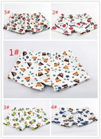 Wholesale children boy boxer briefs children four angle pants children underwear cotton baby pants single panic buying A021306
