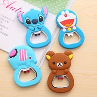 Wholesale Cartoon opener screwdriver cute silicone versatile creative small gifts practical with magnetic stickers fridge magnet