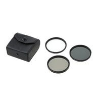 Wholesale Xiaomi Yi Lens Xiaomi Yi Lens Cap Strap Gopro Holder Real Uv Filter Top Fashion pieces mm Uv cpl nd4 Kit with Case Set Dslr Camera