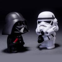 Wholesale Star Wars Figures Dolls set Black Knight Darth Vader Stormtrooper Action Figures Toys Collection Gift for Children SD496