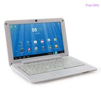 Wholesale DHL inch Mini laptop VIA8880 Netbook Android laptops VIA8880 quot Dual Core Cortex A9 Ghz MB GB GB GB Netbook BJ