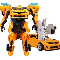 Wholesale Transformation Toys Brinquedos Bumblebee Optimus Prime Robots Car Juguetes Action Figures Classic Toys For Kids Birthday Gifts