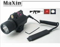 Wholesale Combo quick release CREE LED Flashlight Light x Red Laser Sight NM for Pistol gun