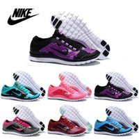 pvc leather - 2016 Nike Women s Free V7 Running Shoes Original Women s Running shoes Fashion Sport shoes Comfortable Athletic Sneakers Hot Sales