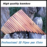 bamboo pan flute - Professional bamboo PanFlute Pipes Woodwind Flauta xiao Curved Handmade Panpipes Musical Instrument Pan flute