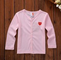 Wholesale EMS freeshipping pc autumn Korean children s sweaters boys and girls pure cardigan