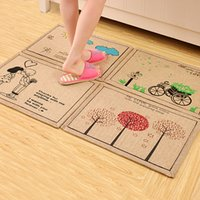 Wholesale ZAKKA non slip bath mat cartoon multi style bath room carpet area rug for living room pad for doormat absorbent