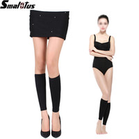 beam wave - Strong Pressure Wave Stovepipe Socks Thin leg Burn Fat socks Elastic beam Shape Leg warmers