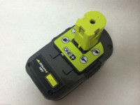 battery capacity gauge - Used Genuine For Ryobi P108 RechargeableLithium Ion Battery V Volt One High Capacity Ah Li ion W Fuel Gauge New
