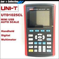 Wholesale New Arrival UNI T UTD1025CL quot LCD Handheld Digital Oscilloscope