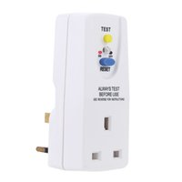 gfci - 13A V High Quality Leakage Protection Switch GFCI Wall Plug in Ground Fault Circuit Interrupter Travel Adapter