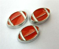 Wholesale New Design FC049 Football floating locket charms for floating living locket as gift wholesales