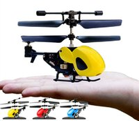 aircraft fuselage - Mini Micro RC Helicopter Fuselage Portable Remote Radio Control Aircraft Channel Gyroscope Plane Model Toys with Gyro