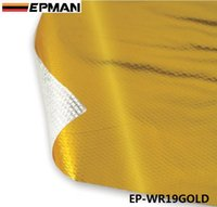 Wholesale EPMAN inch x inch Piece SELF ADHESIVE REFLECT GOLDEN HEAT WRAP BARRIER H Q EP WR19GOLD