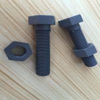 Wholesale Anti acid corrosion resistance material PVC six hexagon head screws M16 long mm